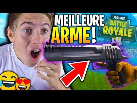 LA NOUVELLE MEILLEURE ARME DU JEU FORTNITE BATTLE ROYALE !!!