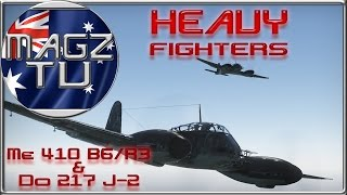 war thunder heavy me 410 b6 r3 do 217 j 2 realistic battle