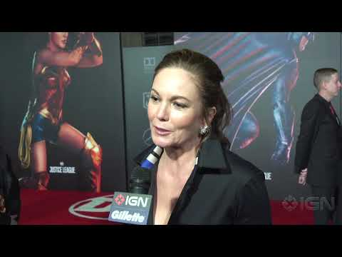 Diane Lane - Justice League Red Carpet Interview