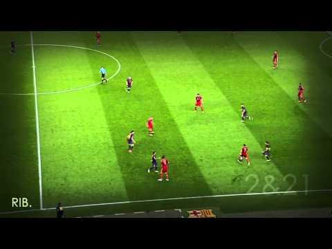 Ribéry & Robben (Goal + Best Plays) VS. FC Barcelona - CL 12/13 Semi-final 2nd Leg [HD]