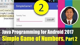 Java Programming for Android 2017 Simple Game with Numbers, Part 2