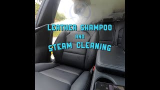 Leather Seats Steam Cleaning | Mindful Car Detailing