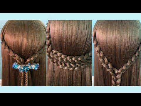AnaTran - 4 kiểu tết tóc đơn giản đi học tự làm