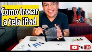 Como trocar a tela do iPAD (mini, Air, iPad 2) #2