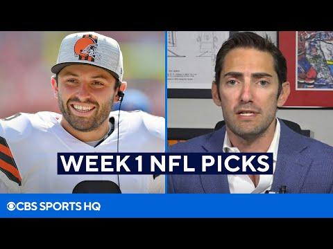 Week 1 NFL Picks From A Betting Expert | CBS Sports HQ