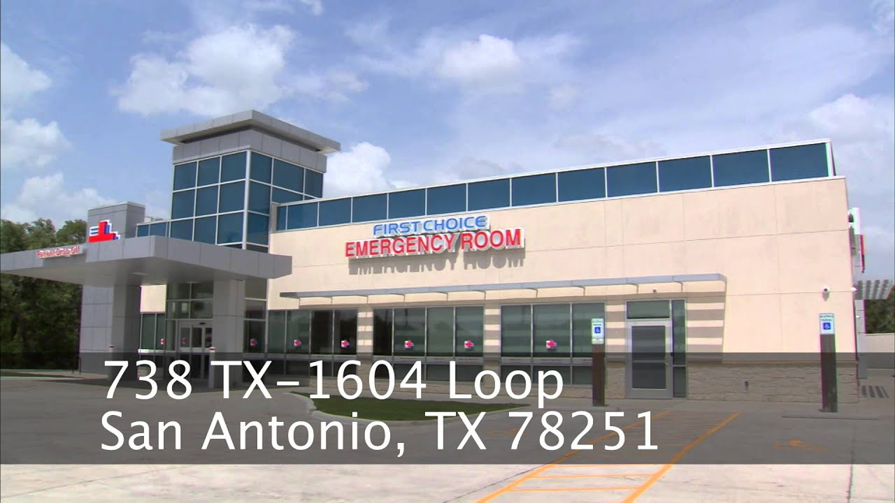 First Choice Emergency Room - Potranco - YouTube