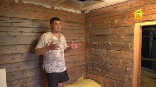 видео Русская баня своими руками – от проекта до отделки + Видео