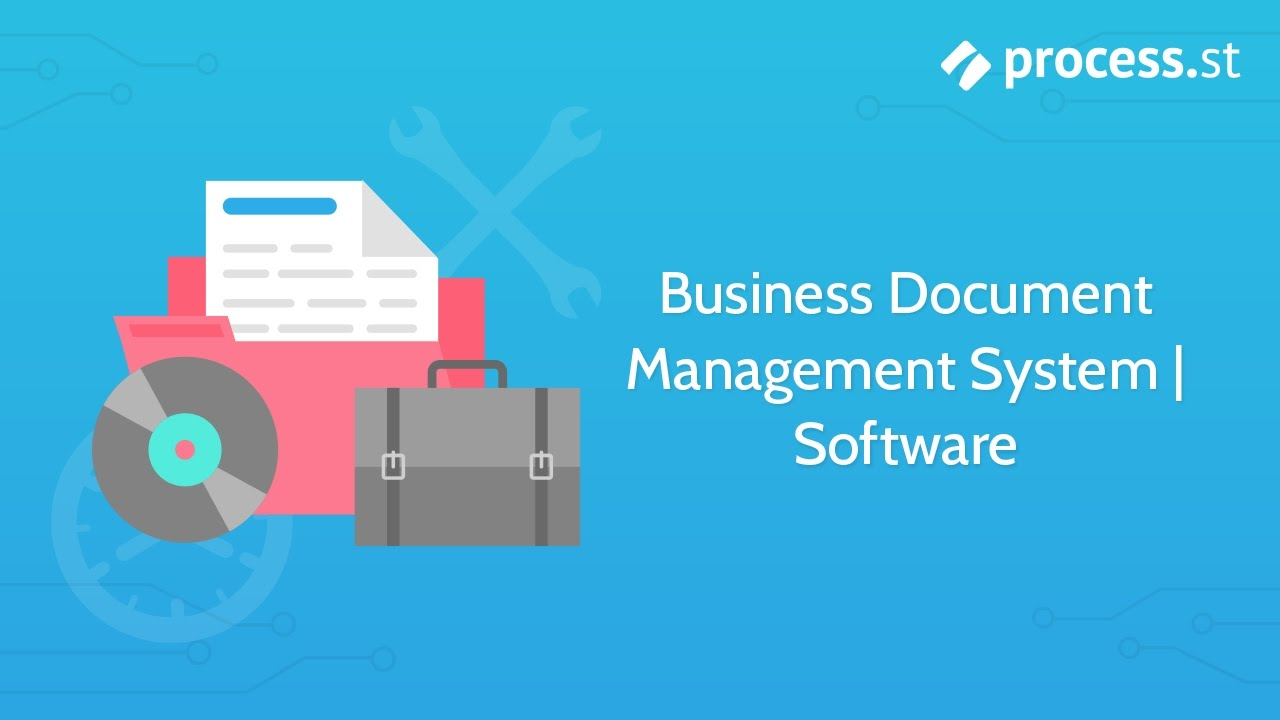 Implementing Electronic Filling With Integrated Document Management Process Flow Diagram Youtube And Chart