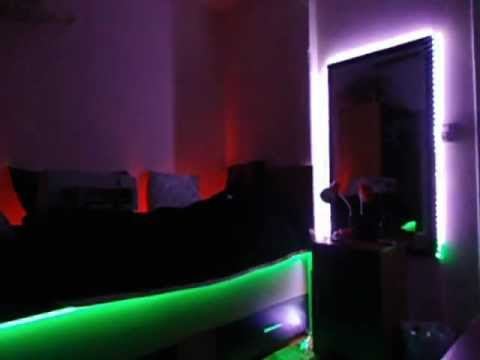 ILUMINACION LED  DECORACION  DORMITORIOS   YouTube