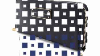 loreancora - Marc by Marc Jacobs Too Hot Too Handle Patent Slim Zip Around
