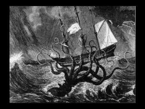 The Kraken Vs The Giant Squid Youtube