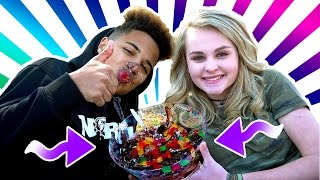 Gummy Worm Date FAIL! (Justin & Ivey)