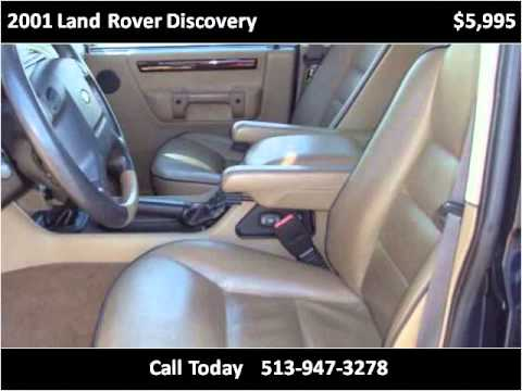 2001 Land Rover Discovery Used Cars Cincinnati OH