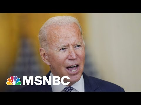 From Afghanistan To Covid, Biden Faces Most Turbulent Week In Office