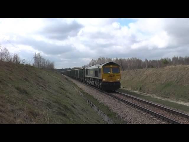 Poci?gi towarowe obs?uguj?ce KWK Bogdanka. Freight trains from and to Bogdanka Coal Mine.