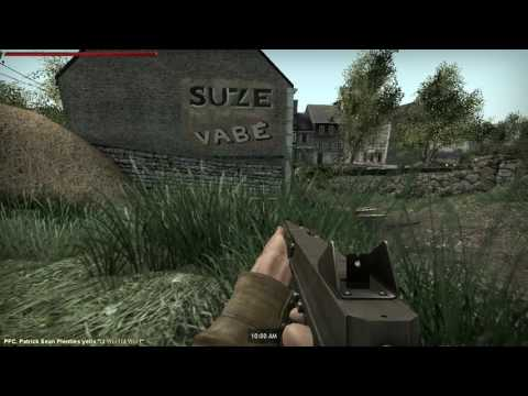 Bans German Army WW2 101st Airborne RP : Carentan