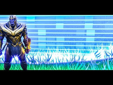 IS THANOS FASTER THAN THE STORM? Fortnite Battle Royale