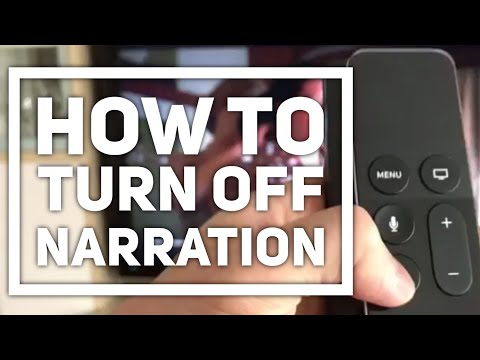 How to Turn Off  narration on Netflix Apple TV