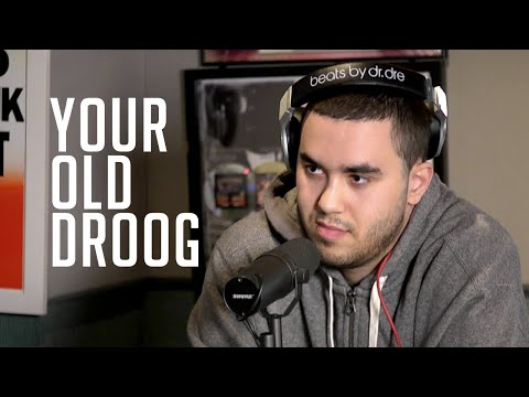 Your Old Droog's First Freestyle & Interview w/ Rosenberg in Hot 97