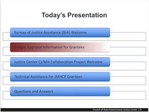 2016 JMHCP Grantee Orientation Webinar