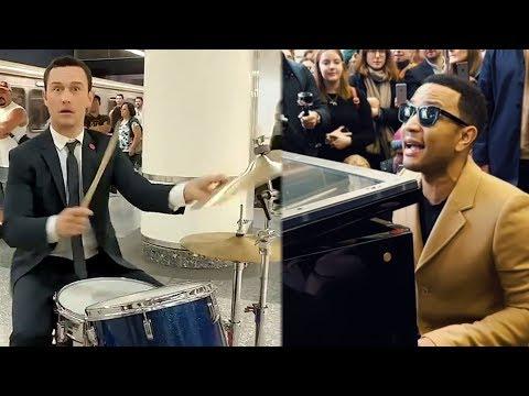 9 Times Celebs Gave SURPRISE Subway Performances