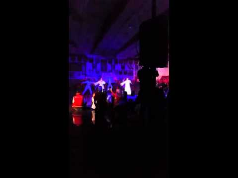 Elsinore high school Teachers dancing at Tear up t