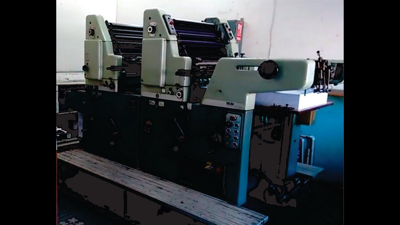 solna offset 225 printing press youtube rh youtube com