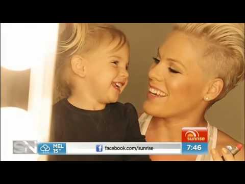 "Behind The Scenes: ""Sunrise"" P!NK interview (Sept 2013)"