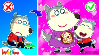 Mommy, Wolfoo Wants a Baby Sister to Play Together - Kids Stories About Baby Wolfoo | Wolfoo Channel