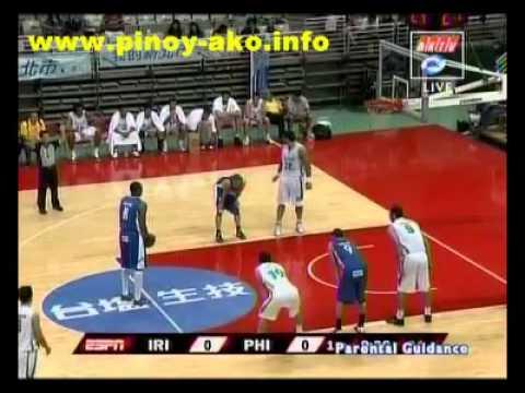 Smart Gilas Pilipinas vs Iran Jones Cup 2011 Part 1