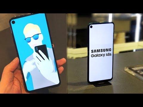ПЕРВЫЙ  СМАРТФОН С ДЫРКОЙ ПРЕДСТАВЛЕН ОФИЦИАЛЬНО! Samsung Galaxy A8s - начало тренда
