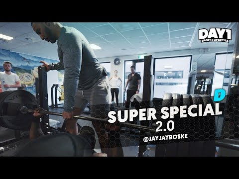 220kg BENCHPRESS  DAY1 SUPER SPECIAL 2.0 met Mobicep, Migiboss & JayJay Boske