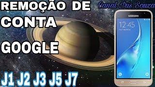 como remover conta google j3 2016 j1 j2 j3 j5 j7 android 5 e 6