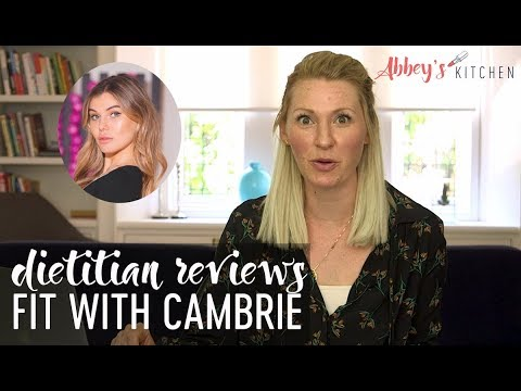 Dietitian Reviews Fit with Cambrie What I Eat in a Day