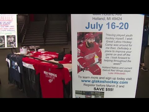 Red Wings Witkowski Returns To Holland For Youth Camp