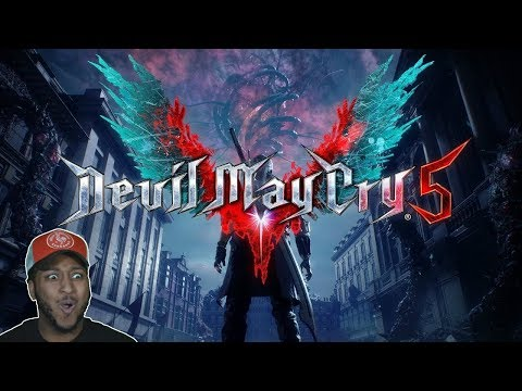 My First Time PLAYING!!   Devil May Cry 5 #1