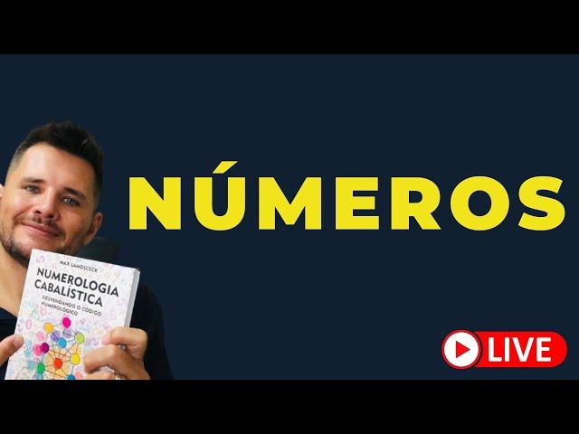 Números  como eles estão vibrando em sua vida ? [ LIVE] Almoço com o Prof.Max