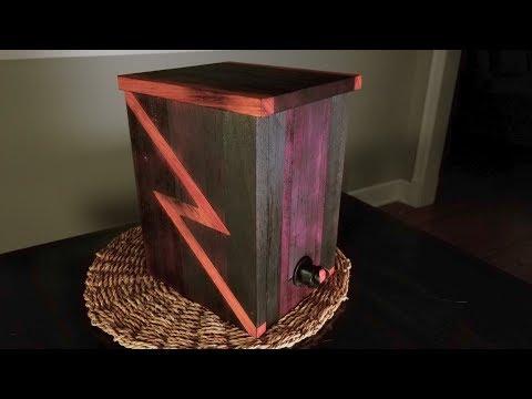 Boxed Wine Dispenser Timelapse Build