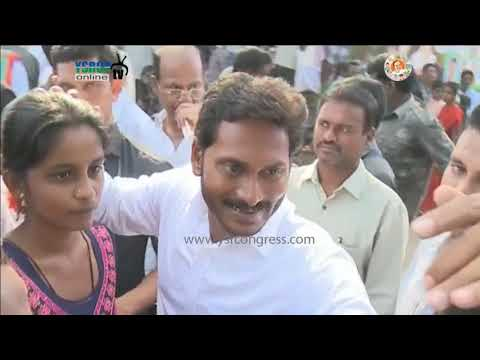 YS Jagan Prajasankalpayatra on 50th Day in Madanapalli Constituency at Chittoor District