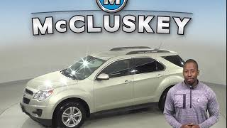 R10105NC Used 2015 Chevrolet Equinox LT AWD SUV Gold Test Drive, Review, For Sale -