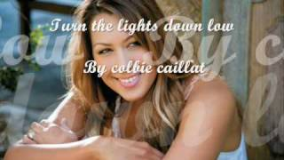 Colbie caillat - Turn the lights down low(live HQ)