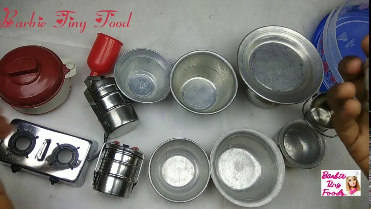 Kids Toy Tiny Kitchenset Mini Kitchen Set Aluminium Silver 12 Pieces Buy Online Miniaturetoys Youtube