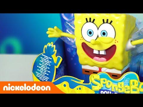 Анбоксинг игрушек с Губкой Бобом и жителями Бикини Боттом 😱 | Nickelodeon Россия