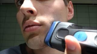 Les Numériques : Rasage avec le rasoir électrique Braun CoolTec° CT2CC