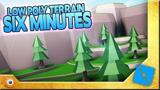 LOW-POLY TERRAIN TUTORIAL [ROBLOX+BLENDER]