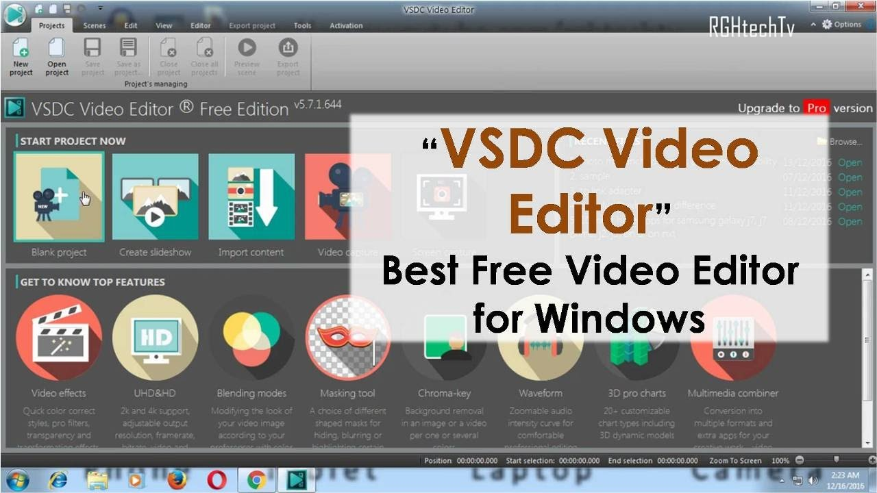 best free video editing software for youtube beginners