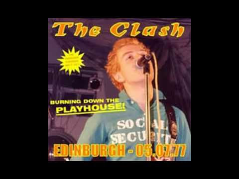 The Clash : The Playhouse Edinburgh, Scotland 07-05-1977