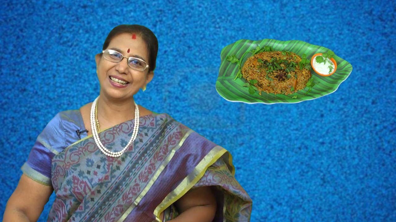 Vegetable biryani in tamil mallika badrinath recipes youtube forumfinder Gallery