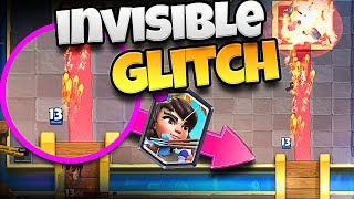 Clash Royale - INVISIBLE TROOP GLITCH