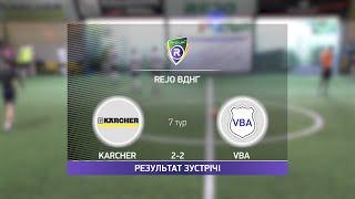 Обзор матча Karcher VBA Турнир по мини футболу в Киеве